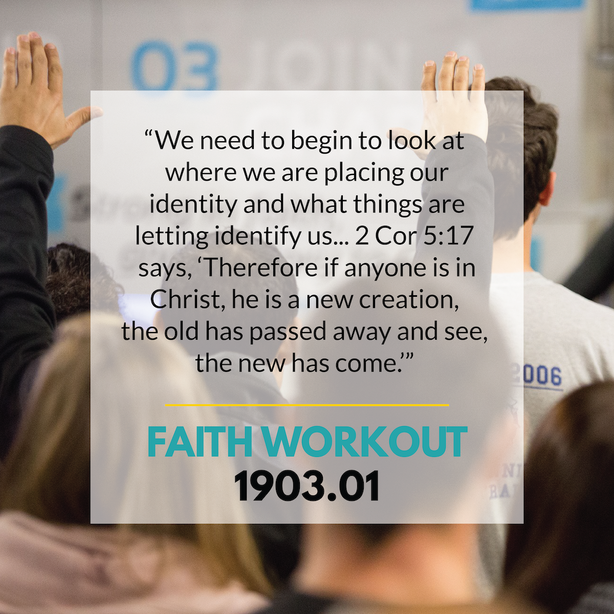FAITH WORKOUT 1903.1 | The new YOU!!!