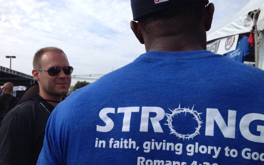 Faith Workout: The Strong Give Glory to God