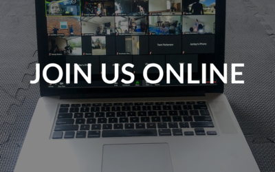 JOIN US FOR OUR ONLINE EVENTS
