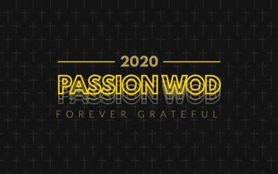 Passion WOD 2020