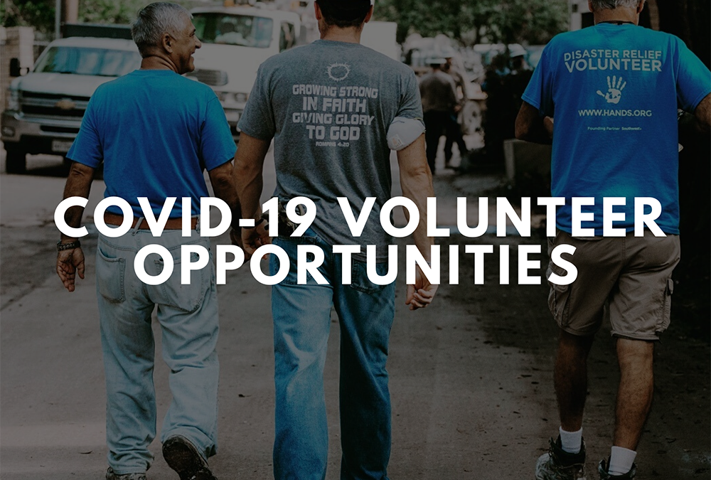COVID-19 Volunteer Opportunities