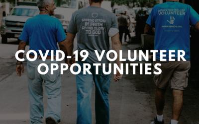 COVID-19 Volunteer Opportunities