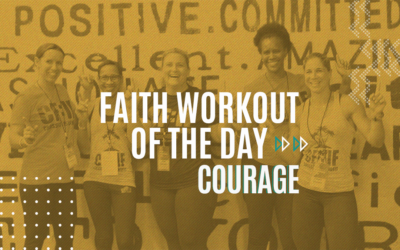 FAITH WORKOUT OF THE DAY 210226 | Slaying Bears, Lions and Goliath