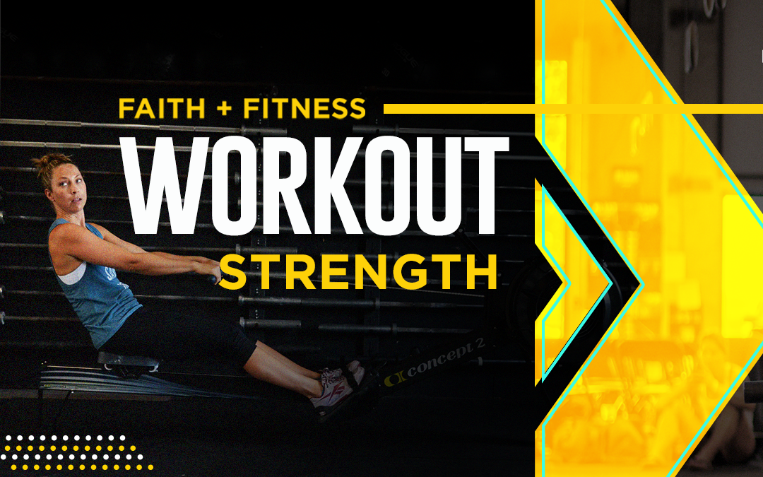 FAITH + FITNESS WORKOUT 2105.1 | The End of Me