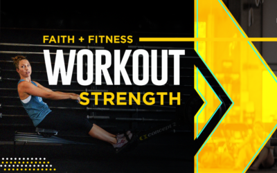 FAITH + FITNESS WORKOUT 2105.2 | Growing Stronger Through Practice