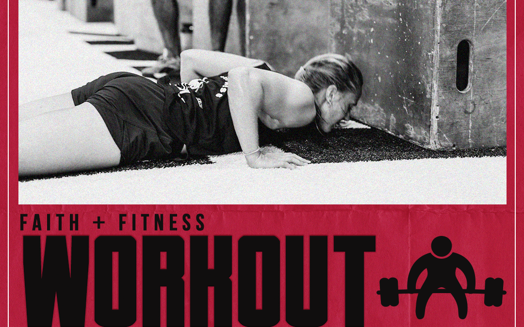 The Finish Line | FAITH + FITNESS WORKOUT 2110.2